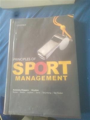 Sport management book