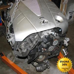 LEXUS 3.5L V6 2GR USED ENGINE