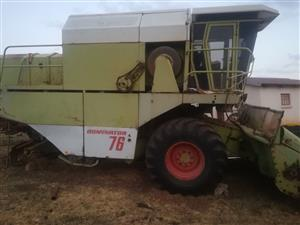 Claas dominator 76 for spares