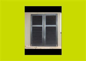 Large Meranti Louvred Door Shutters - Priced Individually(SKU 16)
