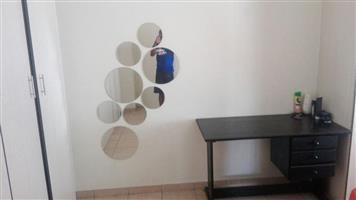 Circular mirrors and mini desk for sale