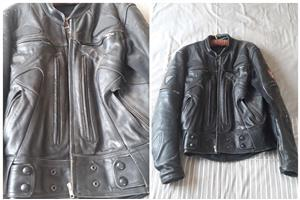Mens Leather Jacket - Teknic