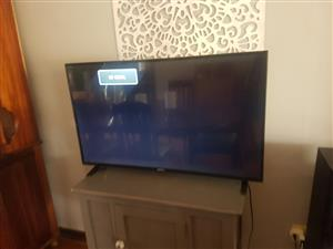 43 inch TV foot stands and remote