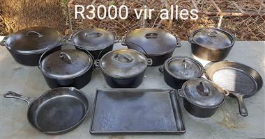 Cast iron lot