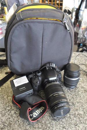 Canon EOS 550D Camera + Lens