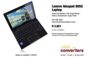 Lenovo Ideapad 80SG Laptop