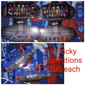 2 Stickeez collections for sale