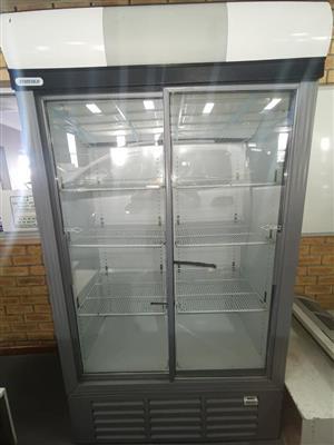 Double door fridge for sale.