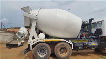 Hino 6 cubic meter cement mixer truck