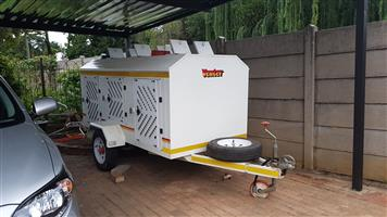 6 Berth Venter Dog Trailer