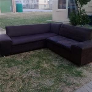 L corner couch for sale