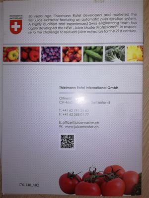 Heavy duty European fruit  juicer