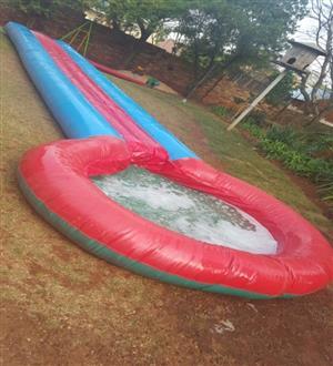 Water Slide 12m Slip & slide for hire
