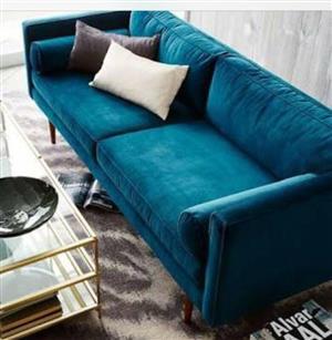 New 2m studio couch