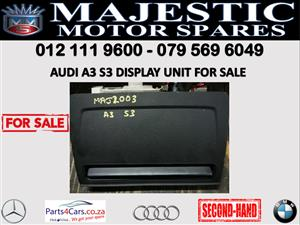 Audi A3 S3 display unit for sale 2019