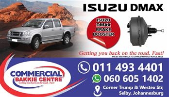 isuzu dmax brake booster