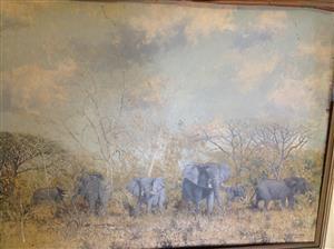 Martin Koch Oil painting