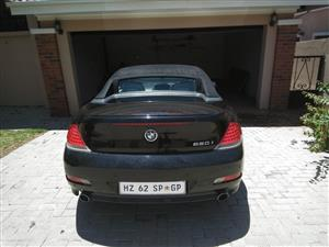 2008 BMW 6 Series convertible 650i CONVERT A/T (F12)