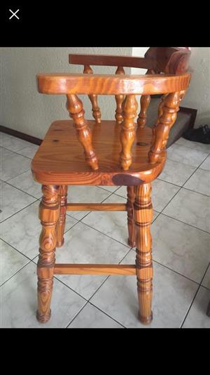 Wooden bar chair for sale