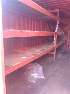 Steel container 6 m