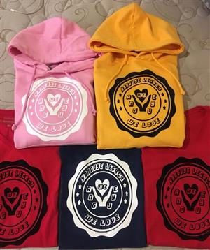 Get your T-shirts, Hoodies, Caps, Gowns, Invitations & Banners printed 📷:) For Birthdays, Bridal parties, Weddings,Family Gathering, Holidays We Print with Vinyl | Flock | Sublimation | Screen Call / Whatsapp 0810866412 Insta @ precious_graphix fb @ Precious Graphix and prints
