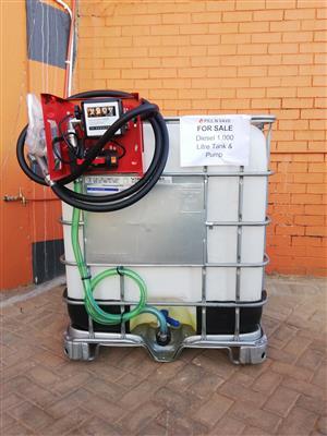 Diesel Flow Bin + Pump Complete - For Sale