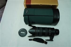 Sigma 170-500mm Full Frame lens for Nikon SLR camera LIKE NEW UNUSED, Auto Focus only on bodies with build in focus motor