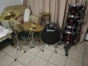 Premier Olympic drumset.