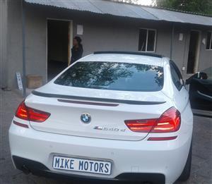 2012 BMW 6 Series Gran Turismo 640i x DRIVE GRAN TURISMO M SPORT (G32)