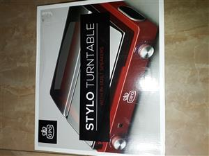 GPO Stylo turntable - new in box