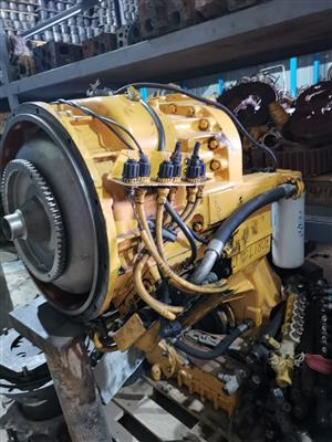 Volvo wheel loader transmissions