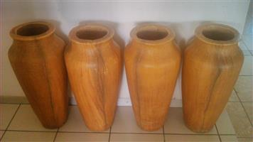 Large decorative pots