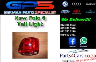 New VW Polo 6 H/B Tail Light for Sale