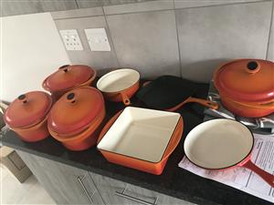 Le Crueset 8 Piece Set