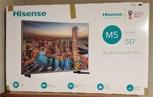 """Hisense 50"""" 4K uhd smart TV"""