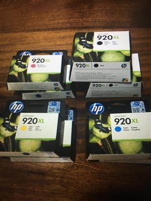 HP Printer 920 xl cartridges available