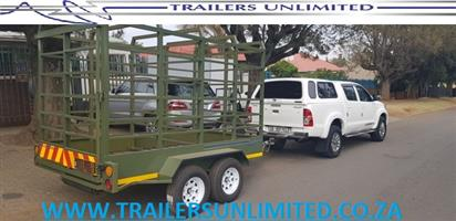 CATTLE TRAILERS TO PERFECTION. PRICED FROM R34900