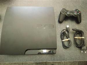 Playstation 3 Slim Console   Comes with 1 remote , all cables and 2 games   In Perfect Working Condition