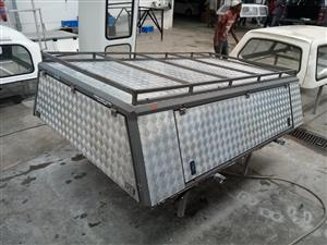 HILUX 05 LWB ALU LEISURE TECH CANOPY 3887