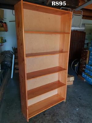5 Tier Pine Bookrack (940x300x1950)