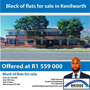Block of flats for sale in Kenilworth