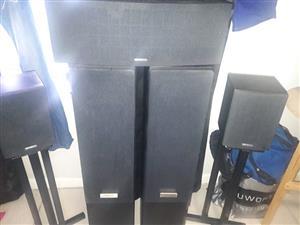 Kenwood surround sound speakers