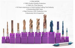 China manufacturer of carbide end mill/drill bit/reamer/non-standard cutting tools cnc tools