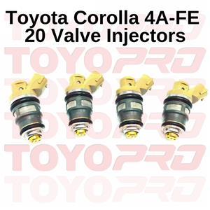 Toyota Corolla RXI RSI 4AGE 20 VALVE Injectors BRAND NEW