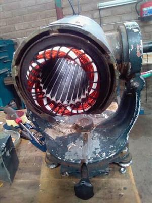 Electric Motor Rewinding and repairs
