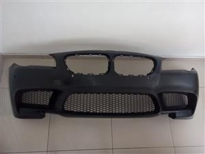 BMW F10 M5 STYLE 5 Series BRAND NEW FRONT PLASTIC BUMPERS FOR SALE  PRICE: R4800-->>>