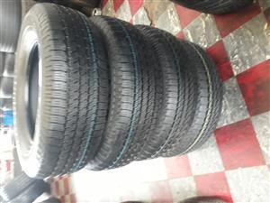 245/ 65 / 17 Toyo A28 tyres