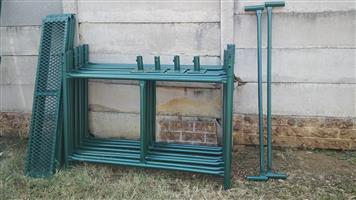 Scaffolding H Frames 4m H x 1.5m W standard set new