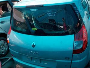 RENAULT GRAND SCENIC 2.0 16V STRIPPING FOR SPARE PARTS