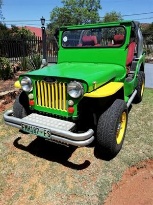 Willys Jeep Rebuild